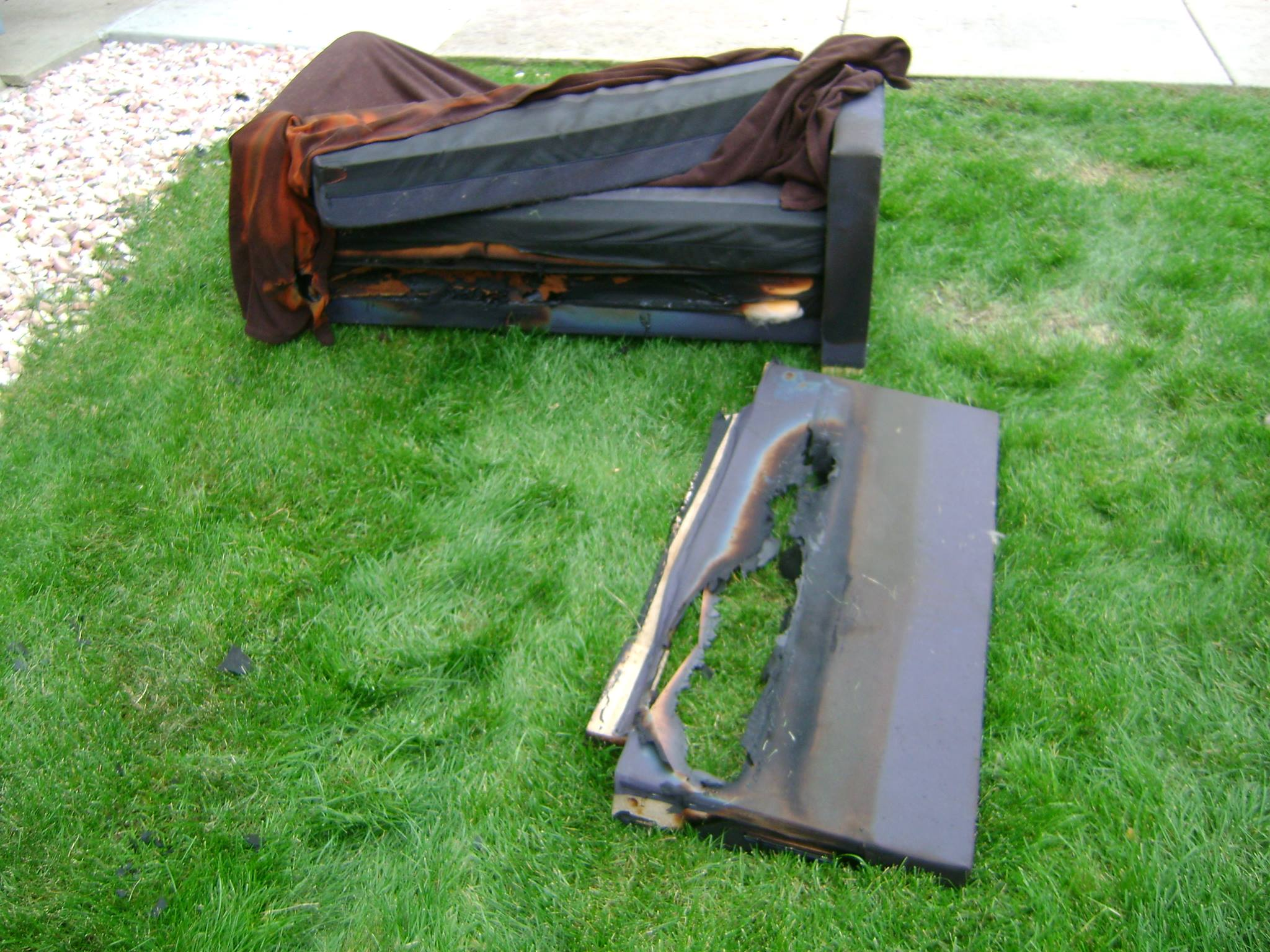 Home Fire Damage In Fort Collins Co Caused By Baseboard Heater