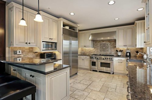 Stone and Tile From Portugal Kitchen Designs
