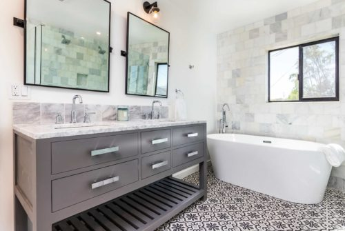 luxury bathroom from Stone and Tile From Portugal