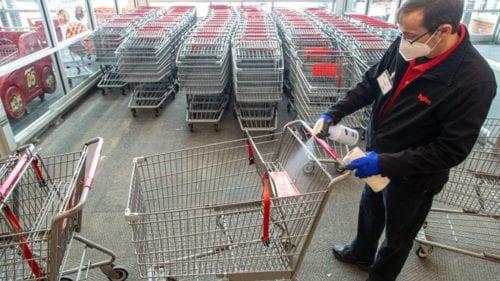 Sanitizing Carts