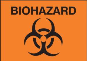Caution Biohazard