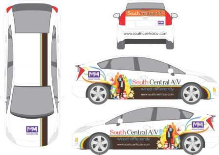 Car Wrap Vehicle Custom Design 12 Point Signworks
