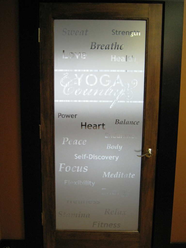 Window Graphics Vinyl Quot Etched Glass Quot Franklin Tn