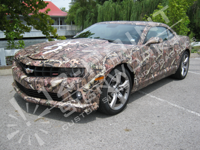 Camouflage Vehicle Wraps Custom And Licensed Patterns