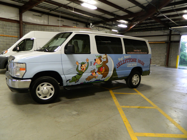 Van Wrap For Yogi Bear S Jellystone Park In Cave City Ky