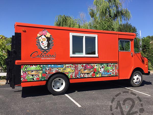 Nashville, TN – Advertising Wraps Help Food Trucks Attract