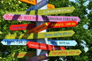 Custom Navigational and Directional Signs