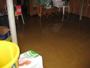 Water Leaks in Basement