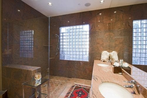 Bathroom Water Damage Repair