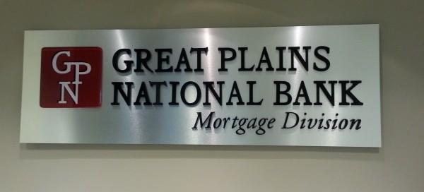 Custom Brushed Silver Lobby Signs in Alpharetta, GA for ...
