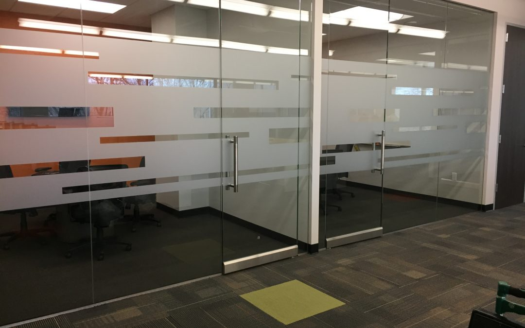 Pollo campero corporate office in dallas tx gets a - Interior window tinting for privacy ...