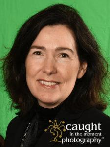 sample headshot taken on green screen background