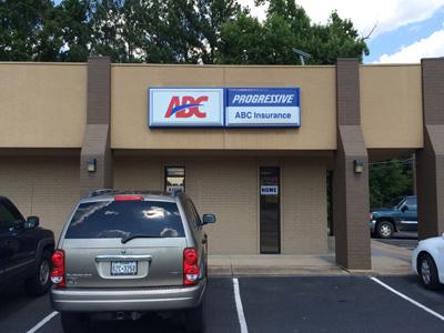 Pan Face Sign Repair For ABC Insurance Agency In Longview TX