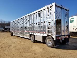 cattle capacity for semi trailers