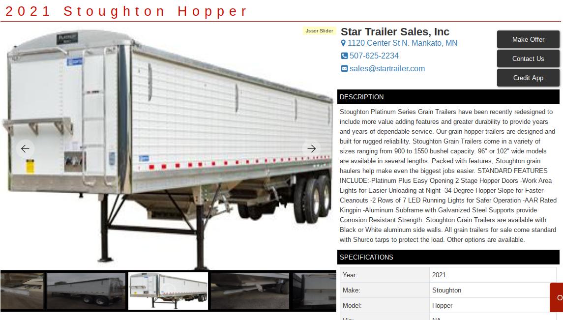 semi trailer sales kansas city