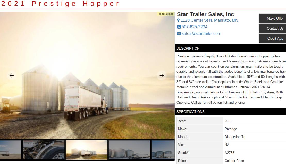 semi trailer for sale in kentucky