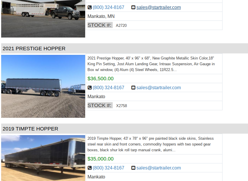 semi trailers for sale in des moines ia