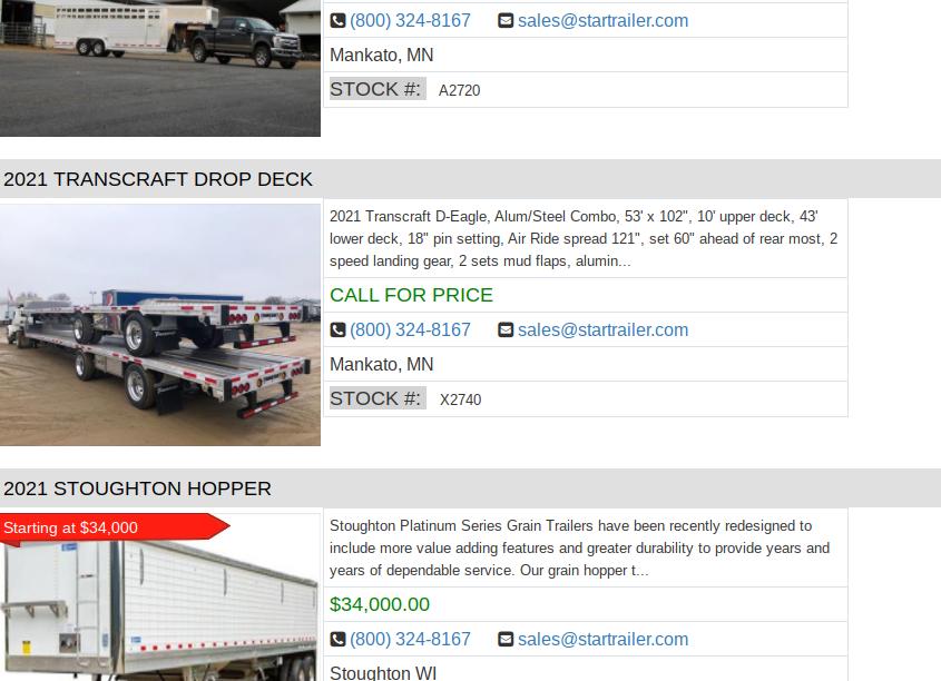 semi trailers for sale salt lake city utah