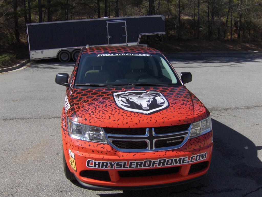 Dodge Journey Wrap - Front