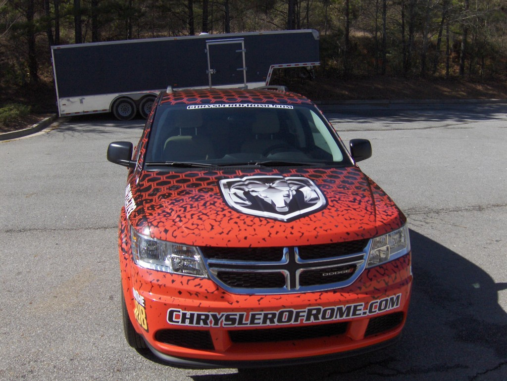 Custom Truck and Van Wraps in Rome, GA for University ...