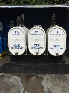 Storage Tanks - Front View