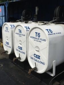 Storage Tanks - Side View