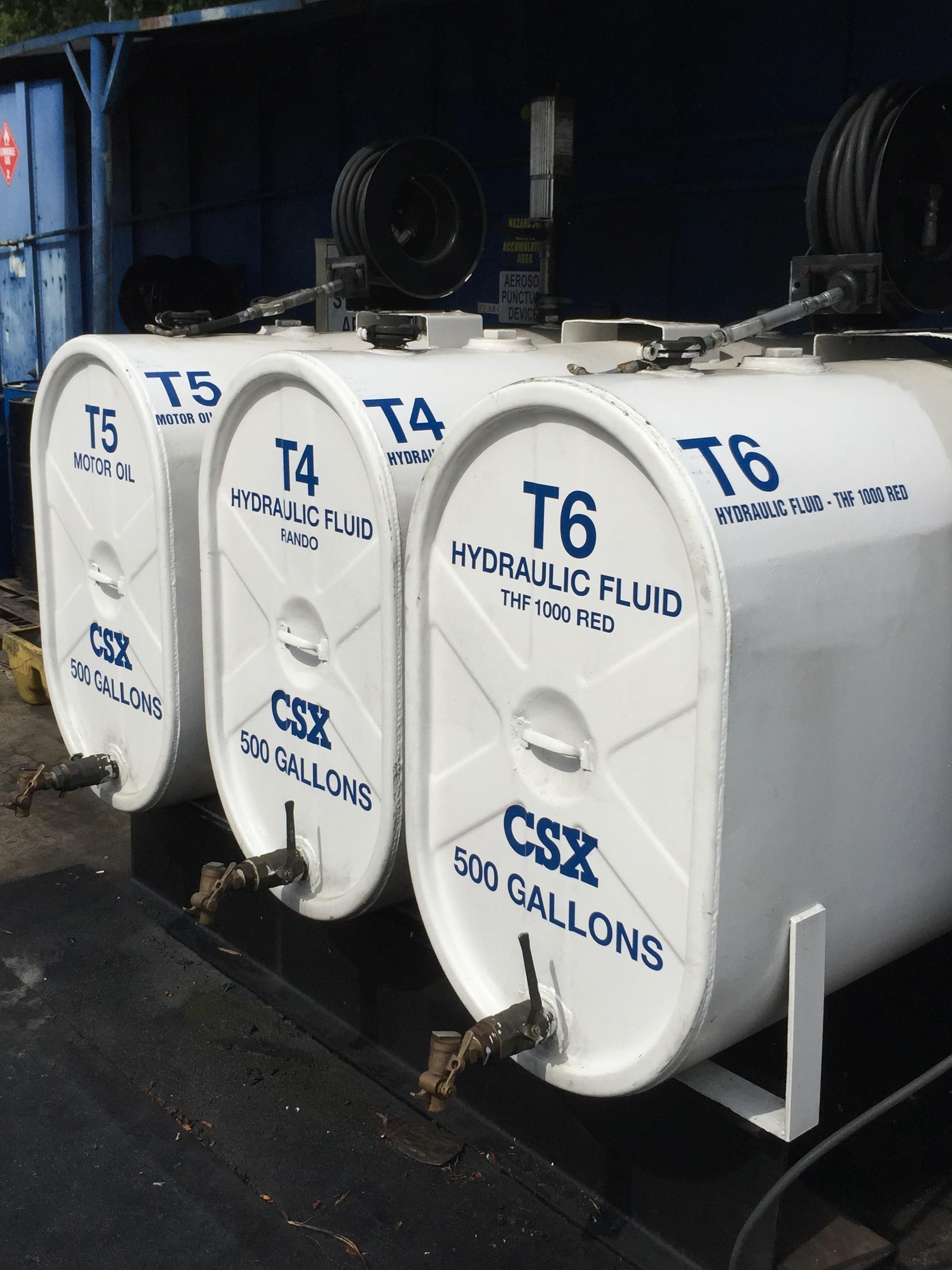 Custom Storage Tank Labels For Csx Corporation S Boulevard