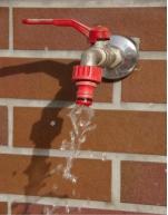 Leaky garden faucet