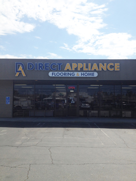 Sleek New Channel Letter Set And Monument For Appliance