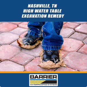 Nashville-TN-High-Water-Table-Excavation-Remedy