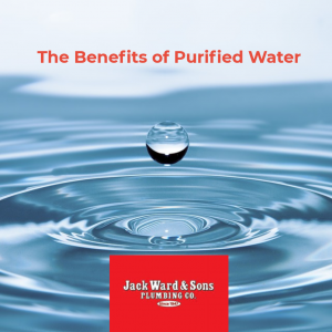 Pure water droplet fresh and clean for lots of benefits for your plumbing and health
