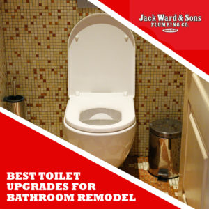 Wall hung toilet depicting best toilet upgrades for bathroom remodel