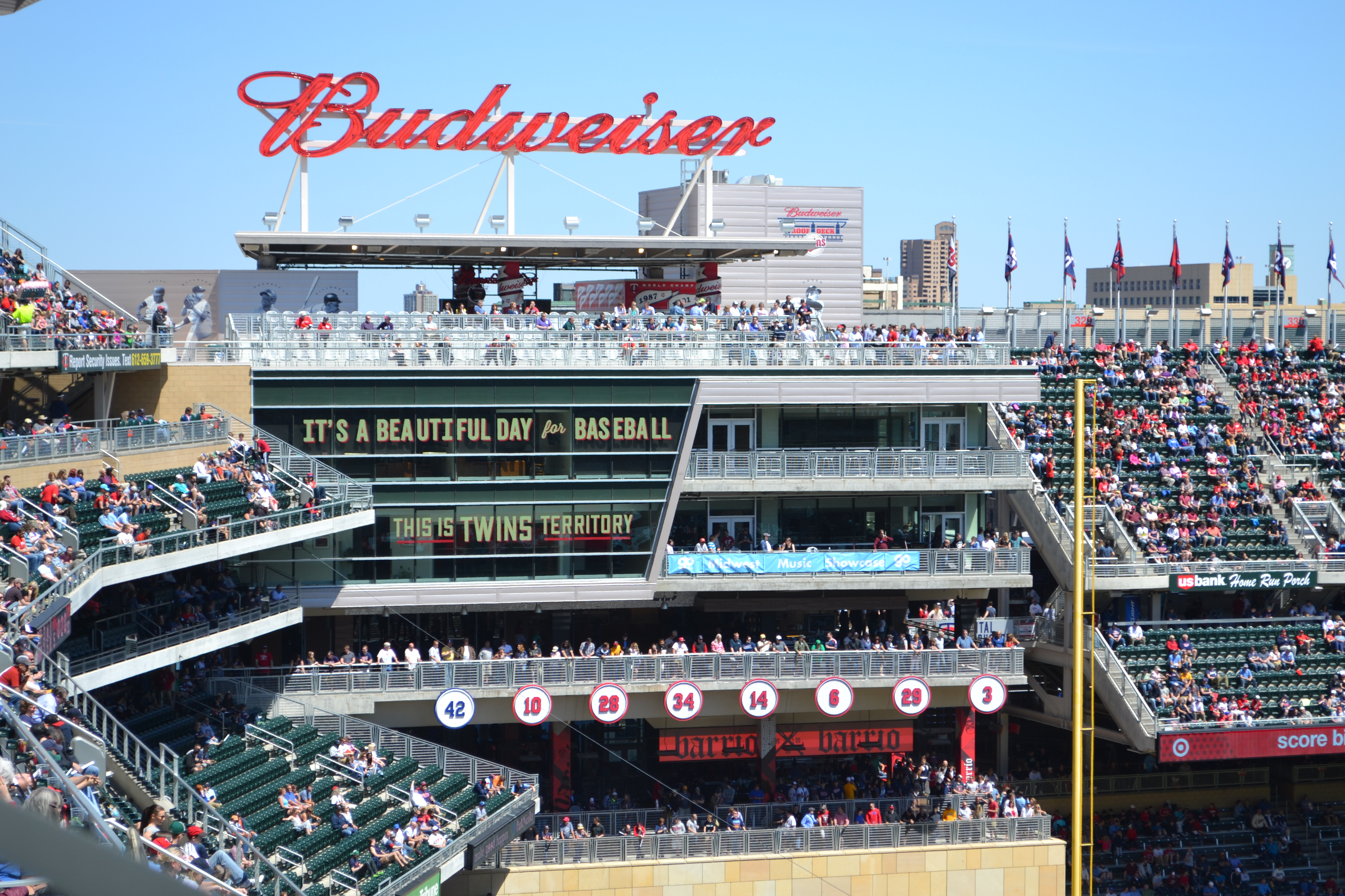 Wall design graphics for Target Field Renovation in ...