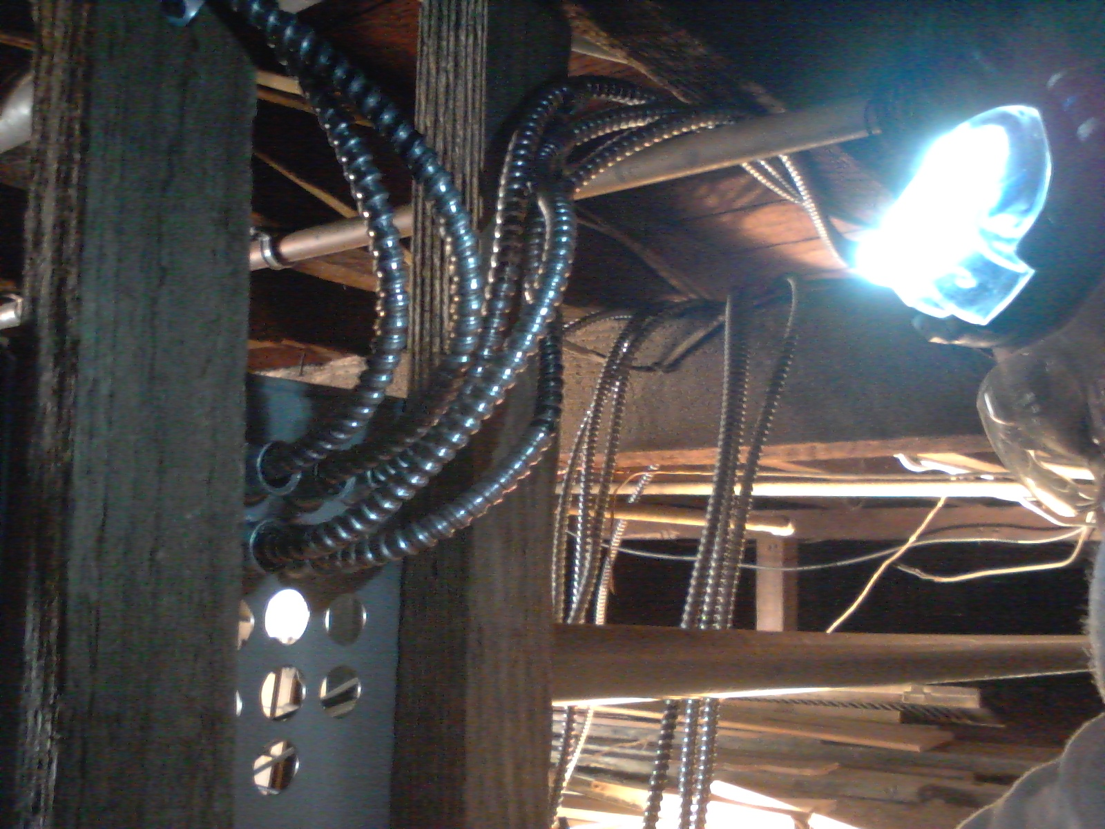 Rewiring Job for John D. in Oakland, CA – Wires Chewed Up By Rats