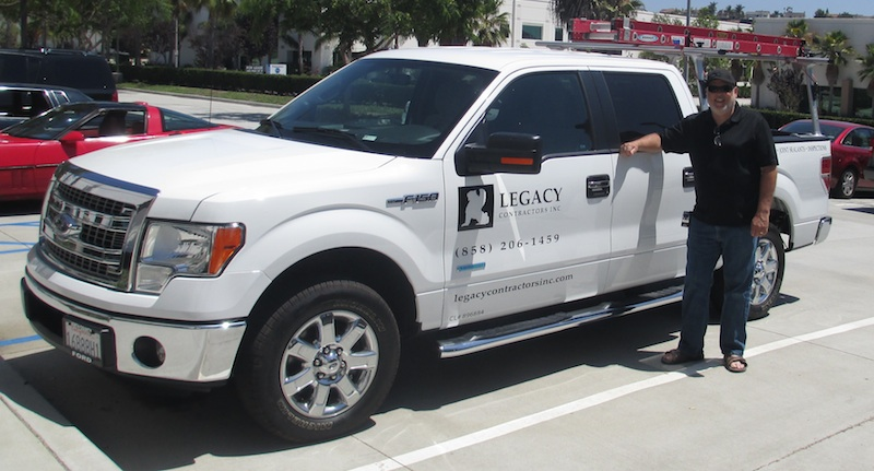 Contractors Vehicle Graphics Help Sell For General