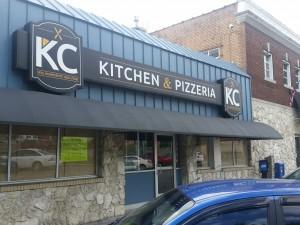 Kansas City Mo Custom Sign Refurbishment For Kc Kitchen