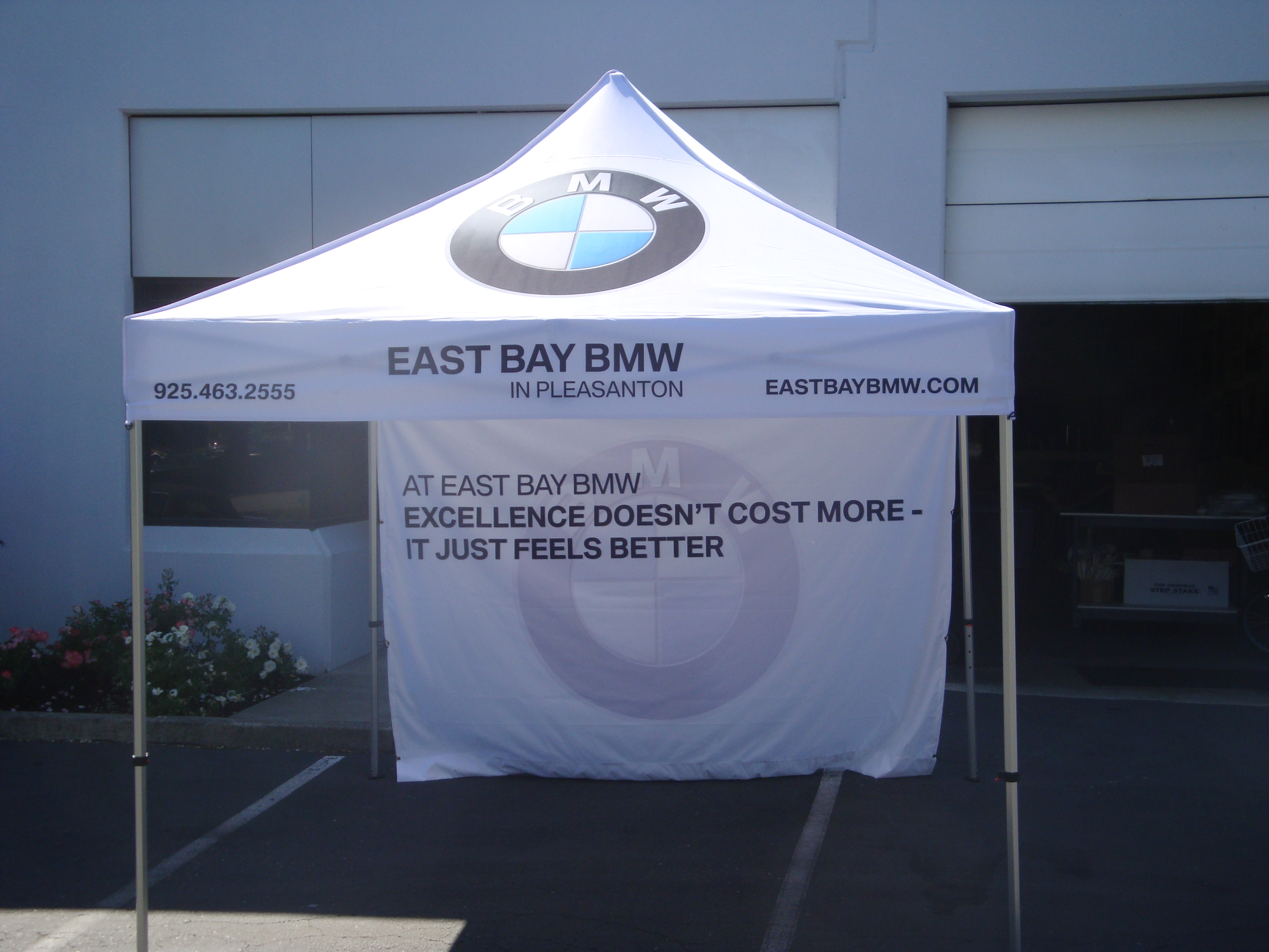 Trade Show Event Signs Package In Pleasanton Ca For East Bay Bmw Mini
