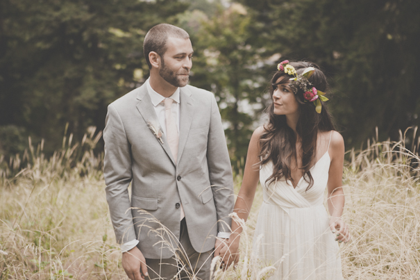 Amanda & Cody's Vintage Wedding at Mount Tabor Park in