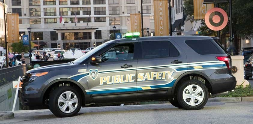 Raleigh Nc Reflective Security Vehicle Graphics Amp Wraps