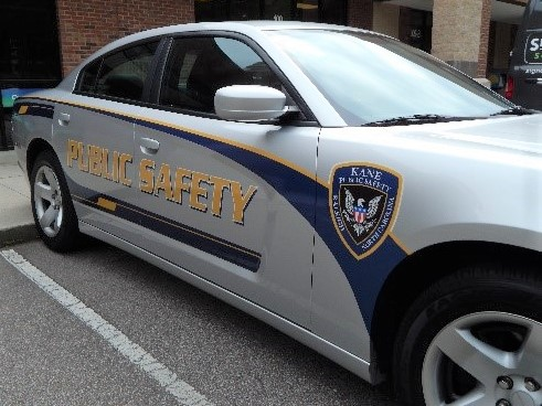 Raleigh nc reflective security vehicle graphics wraps for kane public safety north