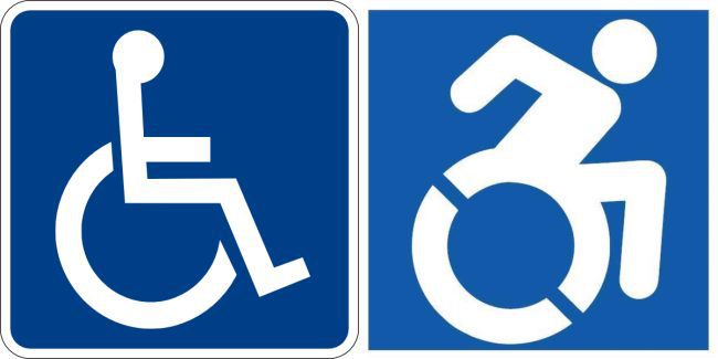 Business Requirement Post Ada Signs Handicapped Wheelchair Bathroom Braille Rochester