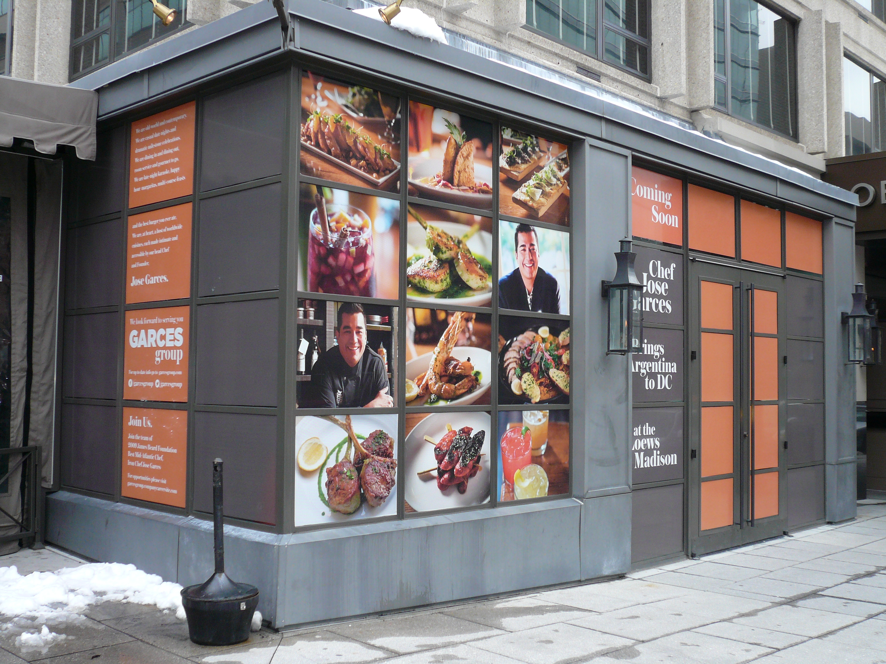 Custom Restaurant Signs Window Graphics In Washington Dc