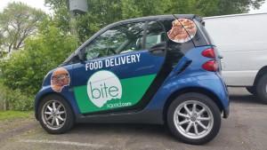 Custom Vehicle Decals In Minneapolis For Bite Squad