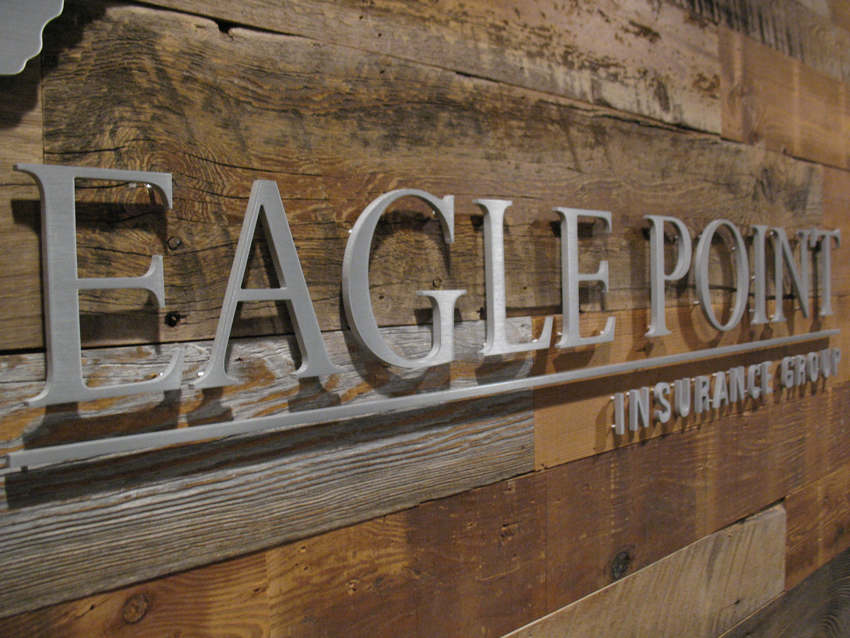 Metal Lobby Sign In Lake Elmo Mn For Eagle Point