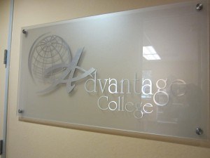 Frosted Glass Amp Plexiglass Lobby Signs Great For Property
