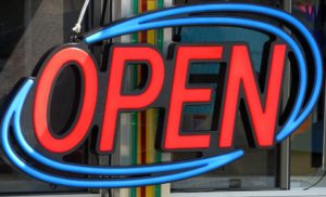 Custom Open Business Signs