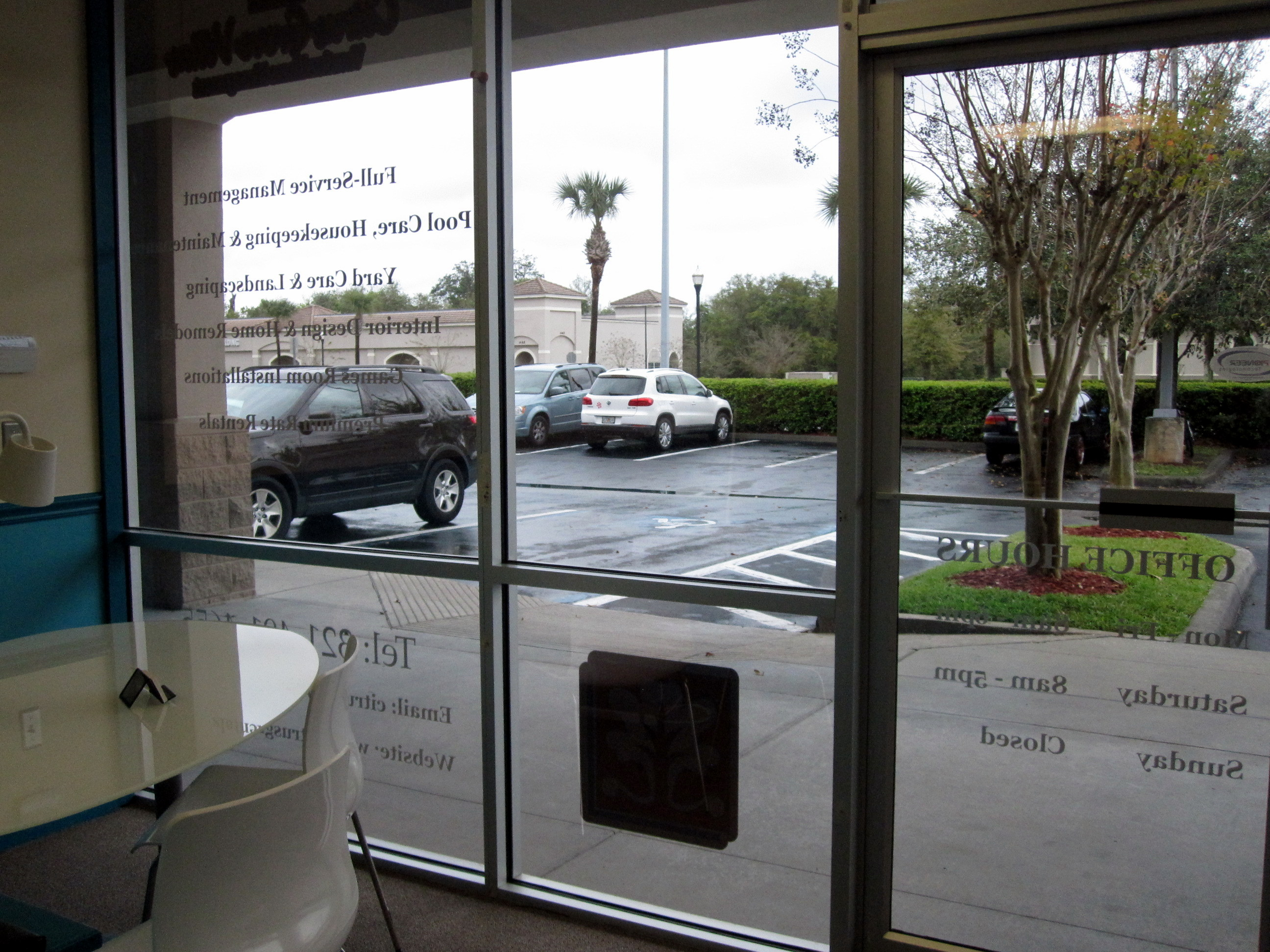 Ceramic window film installation in orlando fl reduces for Window installation orlando