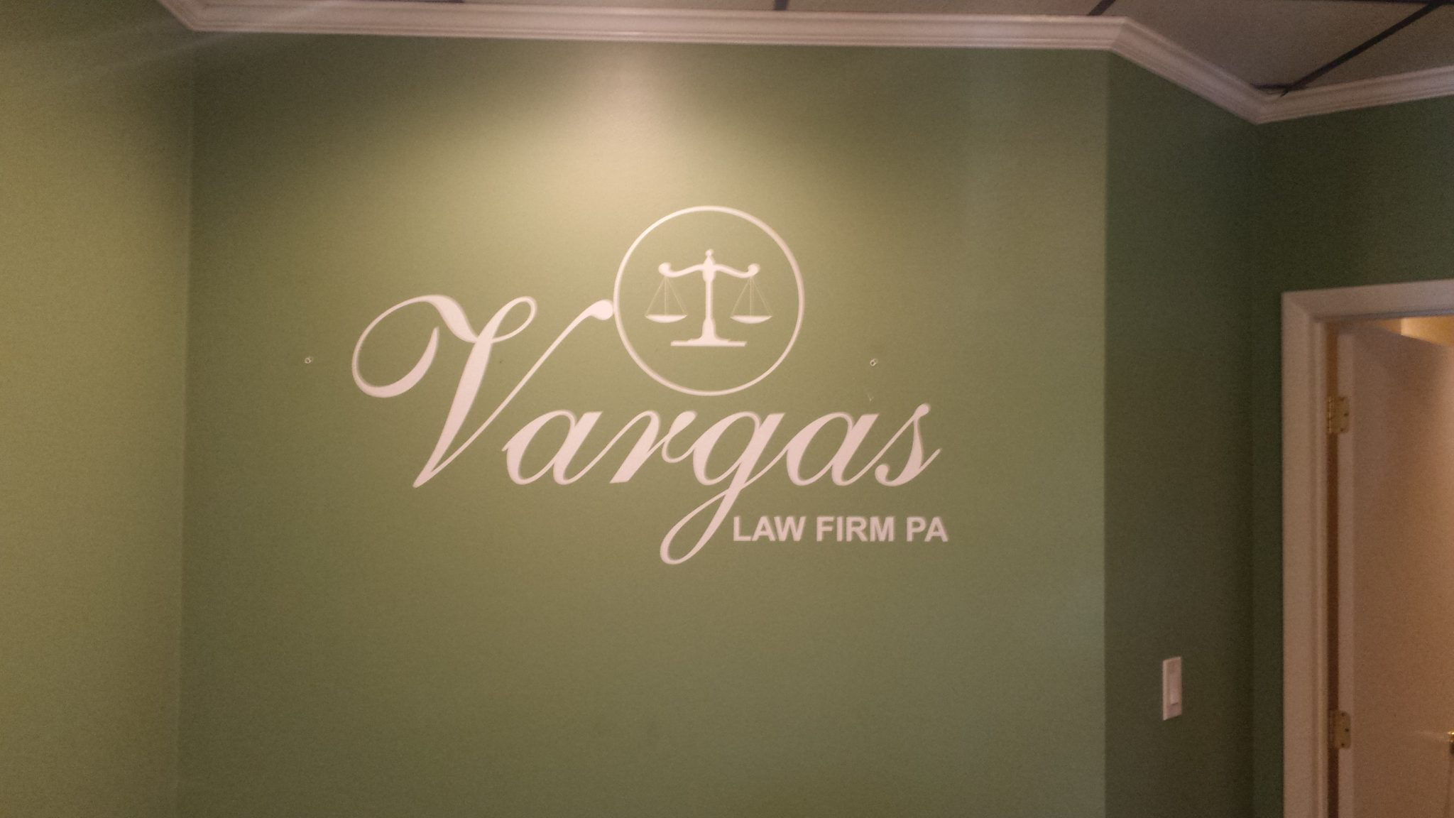 Tampa Fl Lobby Wall Signs For Branding Identification