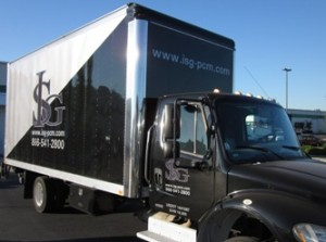 ISG Truck Wrap