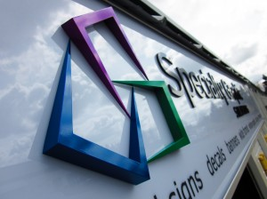 Specialty Graphic Solutions - Outdoor Sign